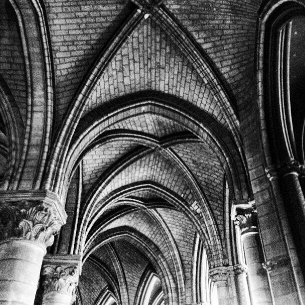 Notredame. #Europa #RoadTrip #Paris #France #Travel #Photographers #BN #LetsExplore #LU