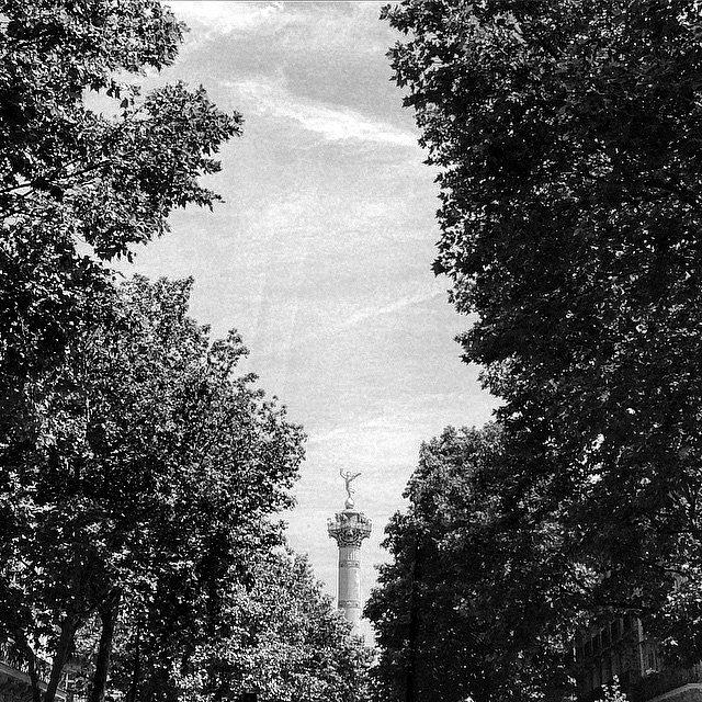 La bastilla. #Paris #LU #RoadTrip #Europe #HoneyMoon