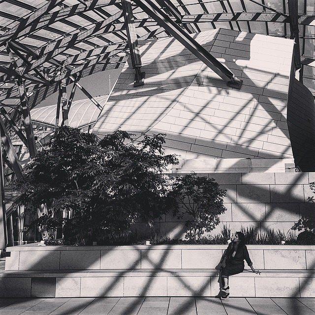 She #Paris #LV #LouisViitton #Foundation #shadows