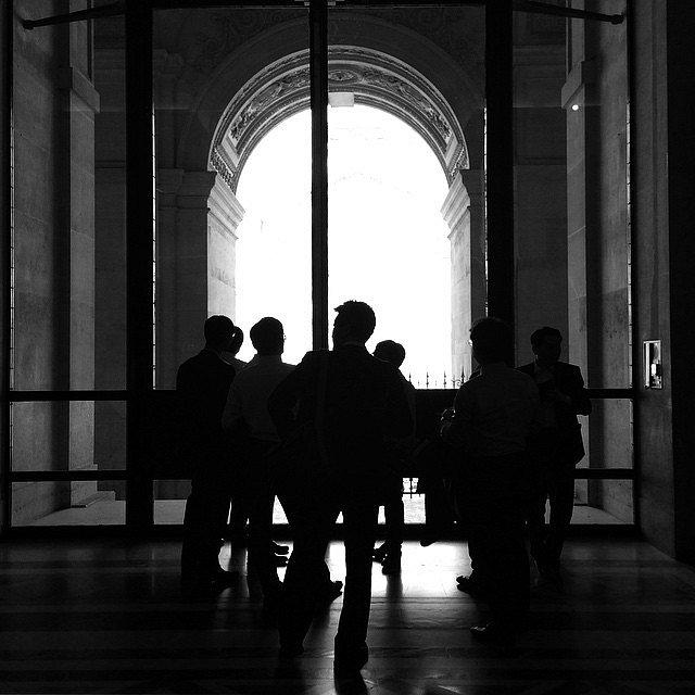 My chinesse friends. #Paris #Musée #Louvre #People #Turism #Trip #BN #LU
